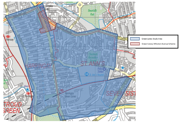 Green-lanes-study-area-map